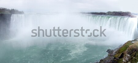 Waterfall, Horseshoe Falls, Niagara River, Niagara Falls, Ontari Stock photo © bmonteny