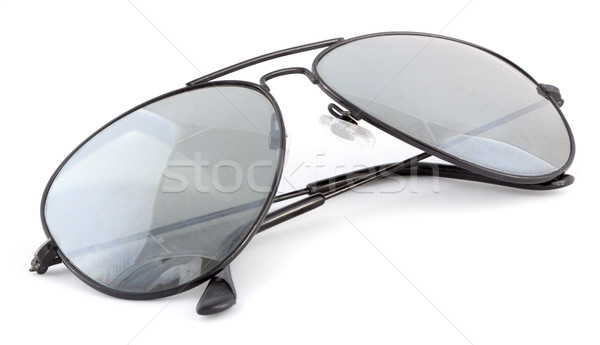 aviator sunglasses isolated on a white background Stock photo © bmonteny