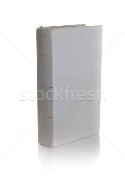 Libro viejo aislado blanco Foto stock © bmonteny