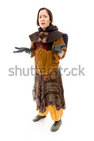 Young woman gesturing Stock photo © bmonteny
