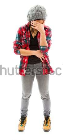 Young woman looking frustrated Stock photo © bmonteny