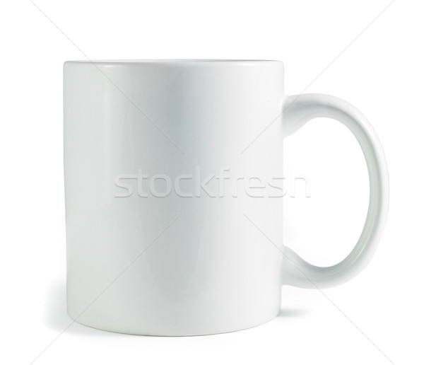 white coffee mug isolated on a white background Stock photo © bmonteny