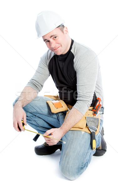 Caucasiano homem 40 anos velho masculino Foto stock © bmonteny