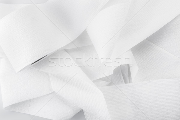roll of toilet paper isolated on a white background Stock photo © bmonteny