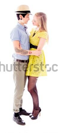 лесбиянок пару фотография мобильного телефона любви Сток-фото © bmonteny