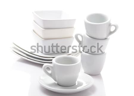 эспрессо изолированный белый Сток-фото © bmonteny