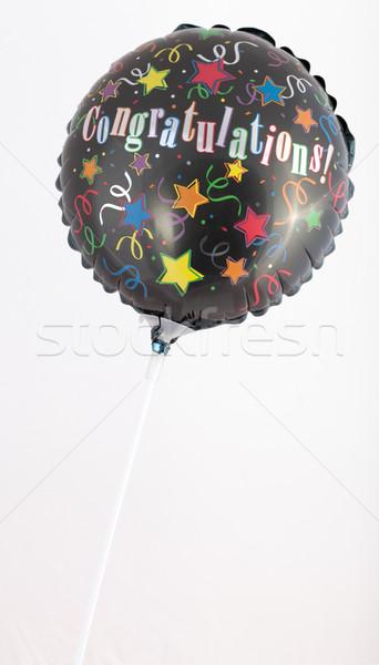 Complimenti pallone isolato bianco Foto d'archivio © bmonteny