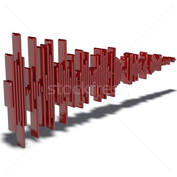 Mintavétel piktogram hang iroda terv doboz Stock fotó © bmwa_xiller