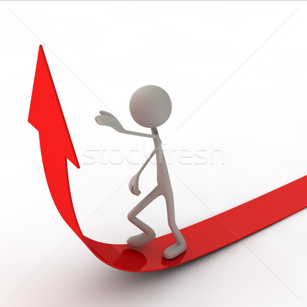 figure are going on the arrow Stock photo © bmwa_xiller