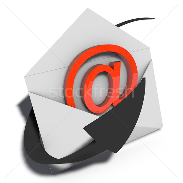 email marketing Stock photo © bmwa_xiller