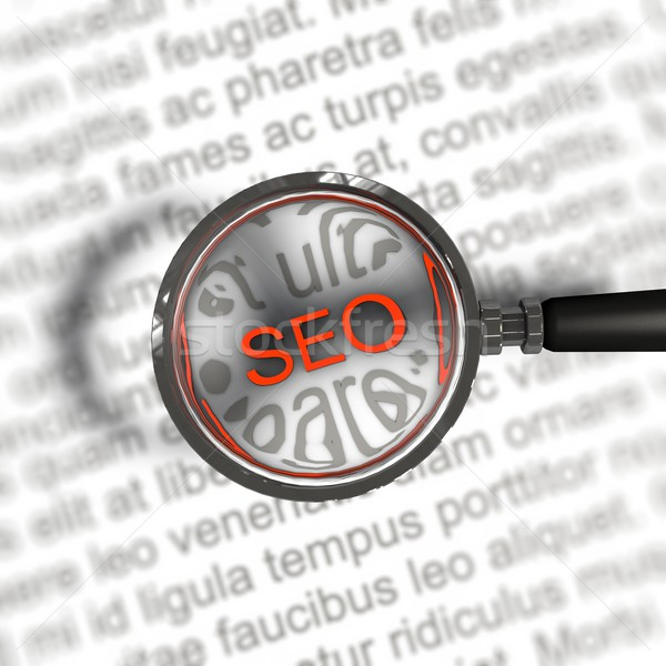 search engine optimization Stock photo © bmwa_xiller