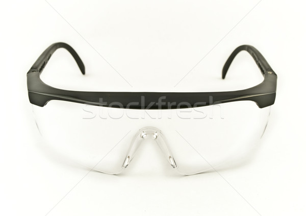 Safety Eye Goggles Facing Viewer Stock photo © bobbigmac
