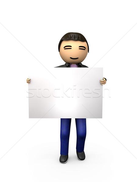 Asia 3D tipo Foto stock © bobbigmac