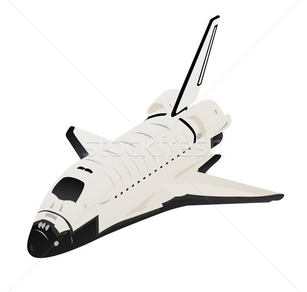 Espacio ilustración vuelo blanco belleza futuro Foto stock © bobbigmac