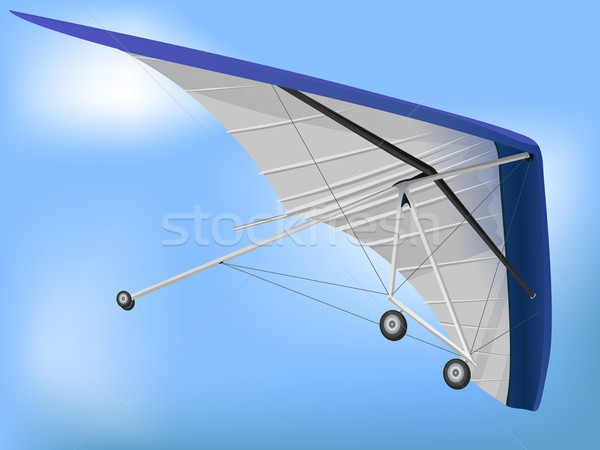 Hanglider Paragliding Wing Flying Stock photo © bobbigmac
