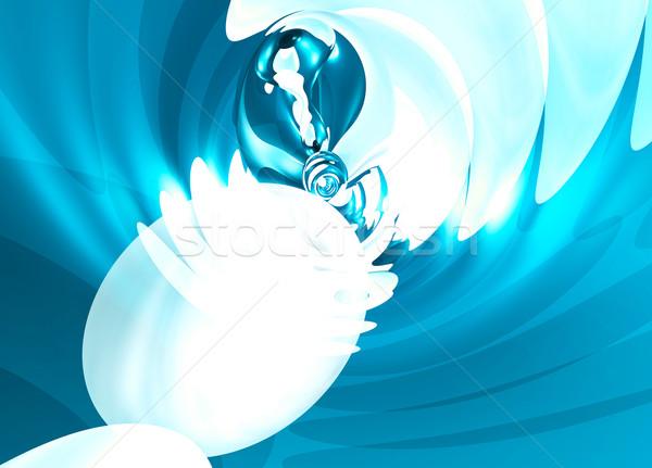 Fluido ola resumen ilustración olas surf Foto stock © bobbigmac