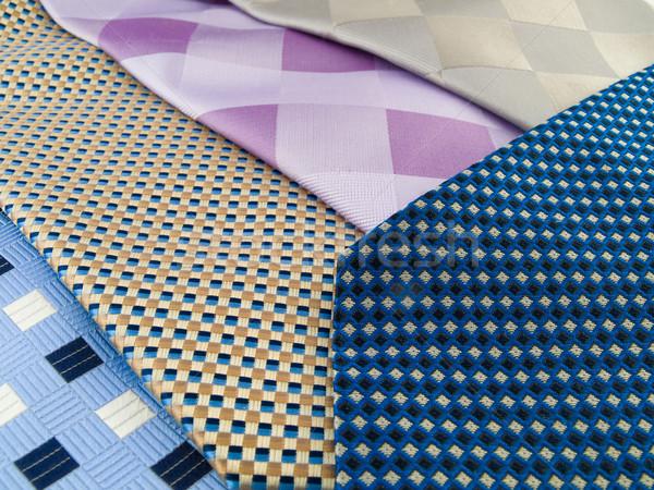 шее шаблон шелковые богатых Сток-фото © bobbigmac