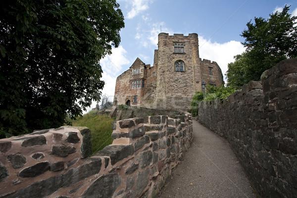 Inglês castelo para cima inglaterra céu Foto stock © bobhackett