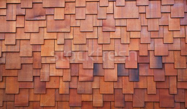 Shake roof Stock photo © bobkeenan