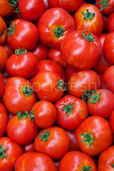 помидоров Фермеры рынке текстуры продовольствие Сток-фото © bobkeenan