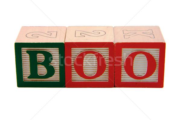 Boo New blocks Stock photo © bobkeenan