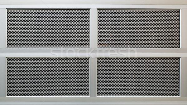 perforated Security door Stock photo © bobkeenan