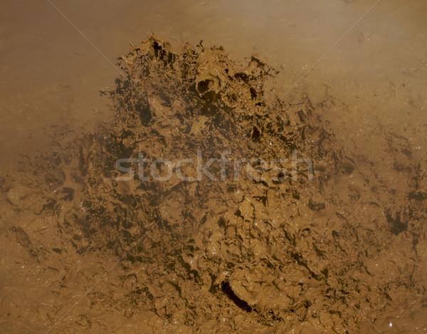 грязи вулканический парка Калифорния лет песок Сток-фото © bobkeenan