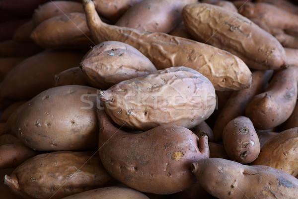 Zoete boeren markt voedsel Stockfoto © bobkeenan
