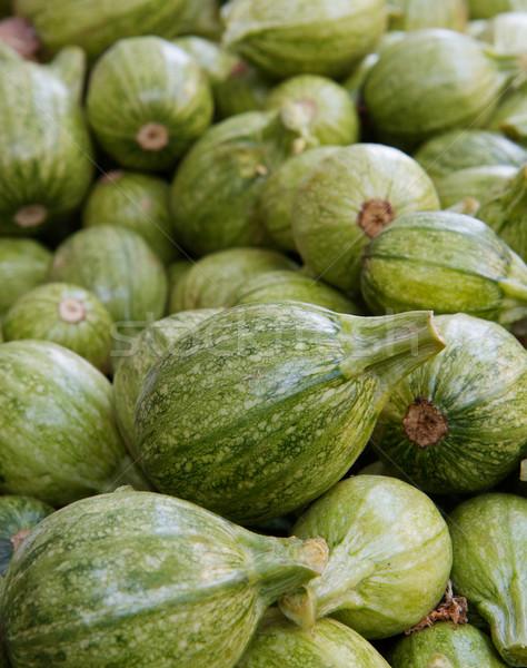 Vert squash marché nature Photo stock © bobkeenan
