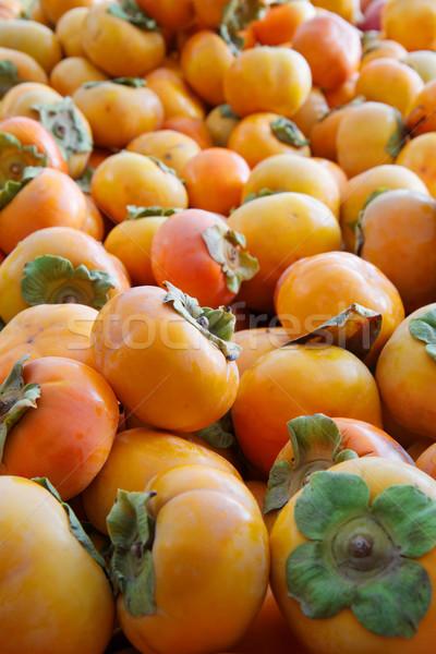 オレンジ 緑 農民 市場 ツリー ストックフォト © bobkeenan