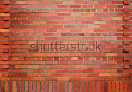 Kleurrijk Rood muur nieuwe verschillend oranje Stockfoto © bobkeenan