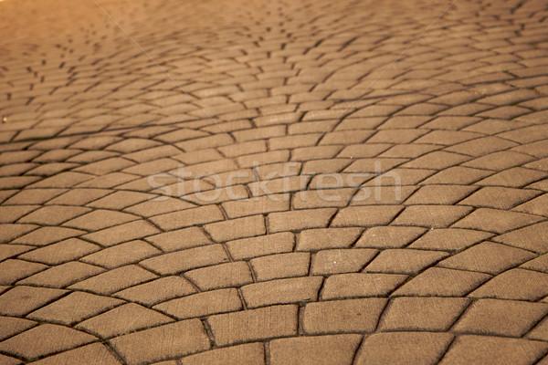 expanding pavers horizontal Stock photo © bobkeenan
