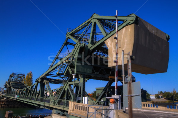 デルタ 橋 カウンタ 重量 ストックフォト © bobkeenan