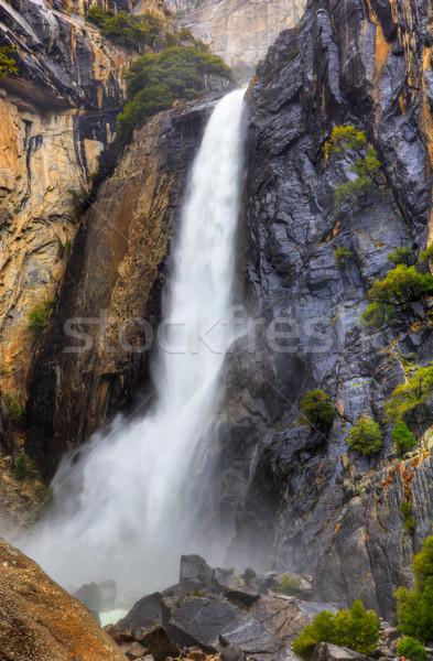 ヨセミテ 高い ダイナミック 画像 ストックフォト © bobkeenan