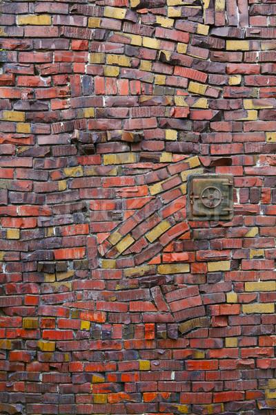 Crazy Klinker Bricks Stock photo © bobkeenan