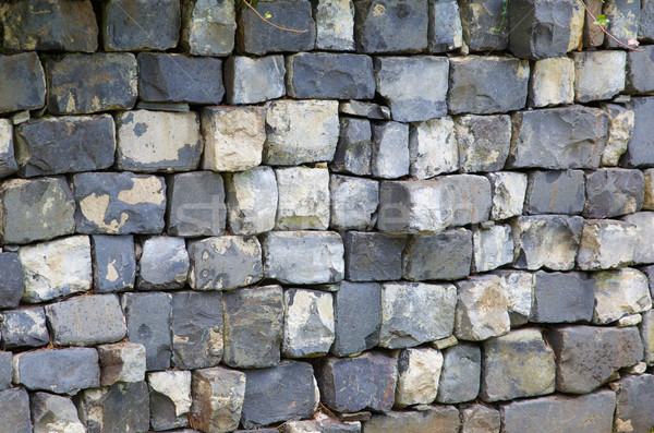Square blocked wall Stock photo © bobkeenan