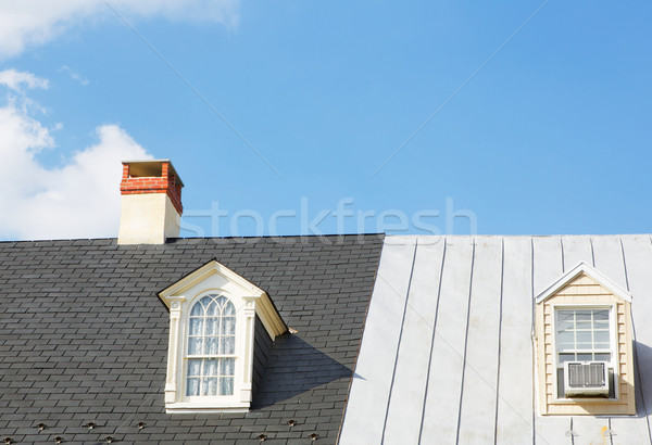 Two Windows and Chimney Stock photo © bobkeenan