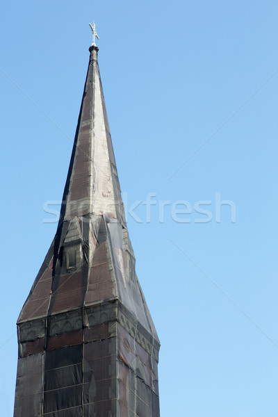 Shrouded Steeple Stock photo © bobkeenan