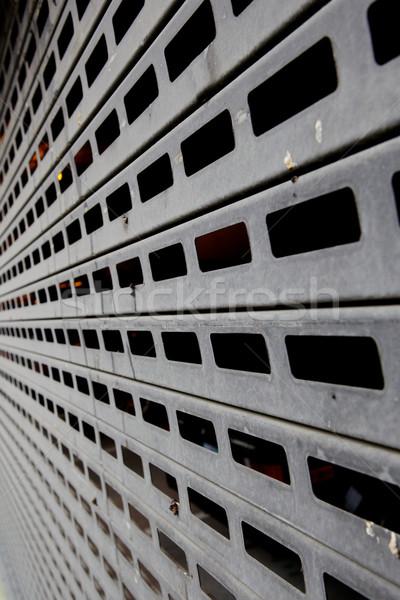 Linear Garage Door Stock photo © bobkeenan