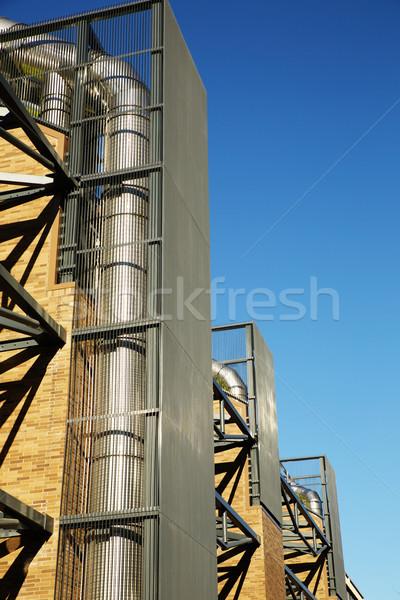 加熱 現代建築 建物 建設 技術 ストックフォト © bobkeenan