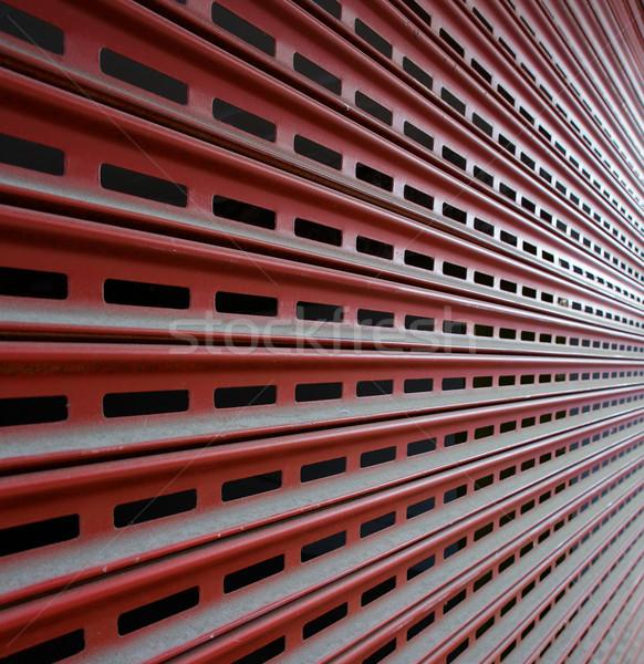 Garage Security Gate Stock photo © bobkeenan