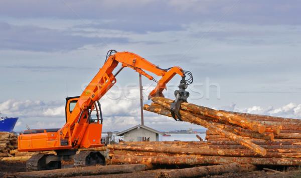 Logging pickup Claw Stock photo © bobkeenan