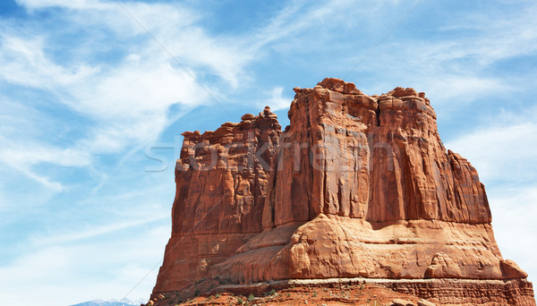 Red Rock Formations sky B Stock photo © bobkeenan