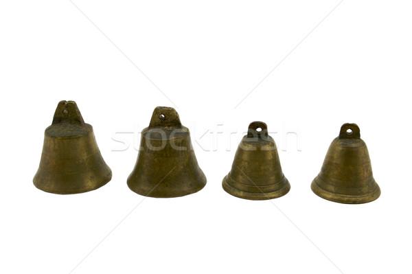 真鍮 4 小 白 サウンド ストックフォト © bobkeenan