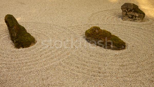 Rock Zen Garden Stock photo © bobkeenan