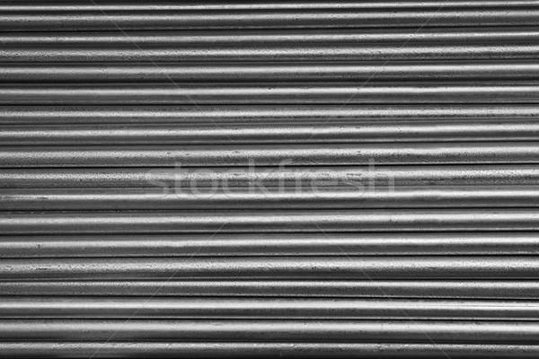 гальванизированный трубы горизонтальный небольшой стали Сток-фото © bobkeenan