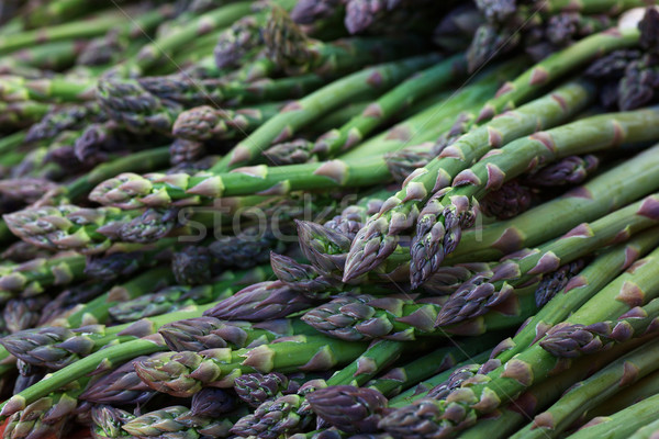 Pile of Asparagus Stock photo © bobkeenan
