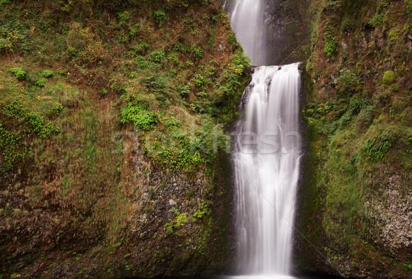 右 長時間暴露 風景 プール 滝 ストックフォト © bobkeenan