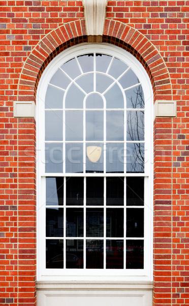 Arched window brick wall Stock photo © bobkeenan