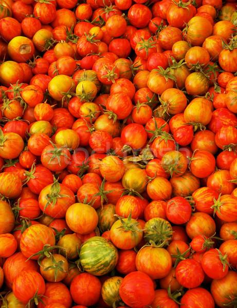 Red Juicy Heirloom Tomatoes Stock photo © bobkeenan
